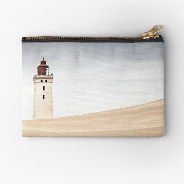 Lighthouse Rubjerg Knude Denmark Zipper Pouch