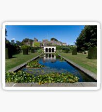 Castle Garden Glossy Sticker