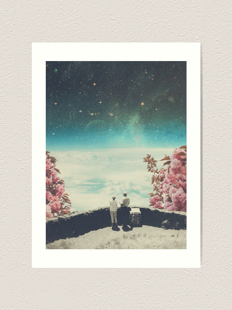 Alternate view of You Know we'll meet Again Art Print