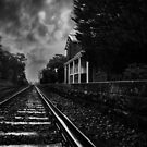 Waiting At The Station In Mono by peterperfect
