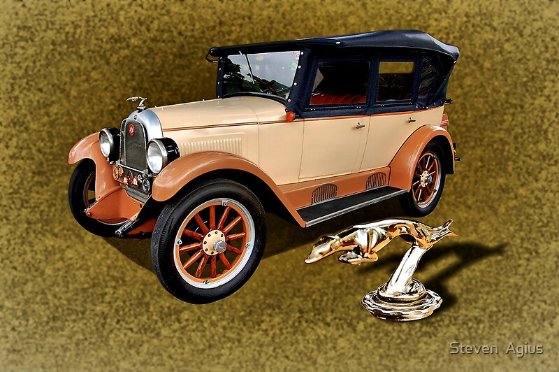 Quot 1926 Willys Overland 96 Whippet Quot By Steven Agius Redbubble