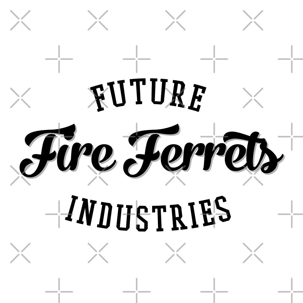 Future Industries' Fire Ferrets (Black) by cnfsdkid