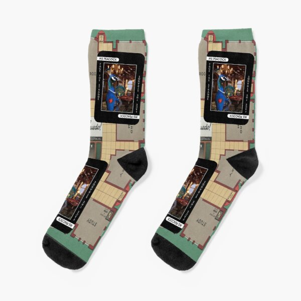 Ms Peacock Socks