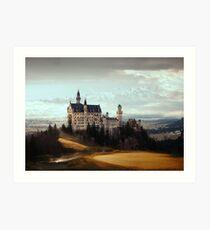 Majestic Castle Art Print