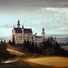 Majestic Castle by Yuliya Art