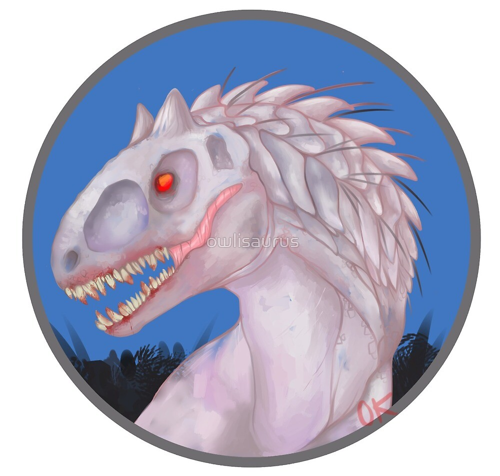 Indominus Rex by owlisaurus