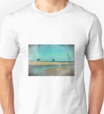 surfers at lagoon 1 Unisex T-Shirt