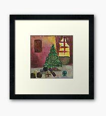 First Christmas for Frances Framed Print