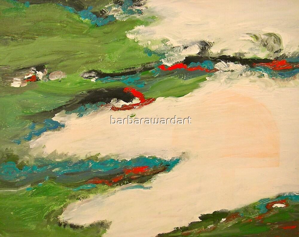 Snowmelt by barbarawardart