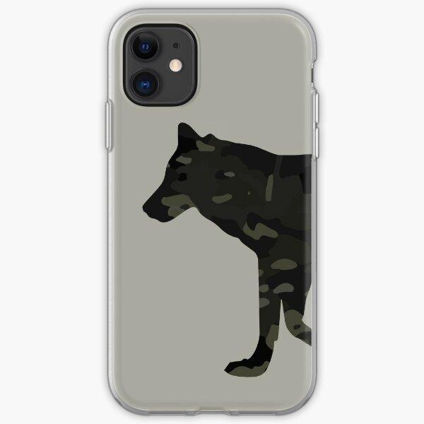 Multicam Black Wolf iPhone Soft Case