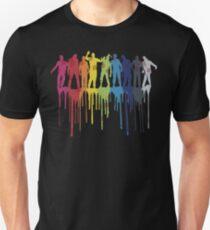 Rainbow Zombie Shuffle: Version Two Unisex T-Shirt