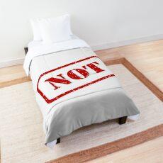 Not stamp Comforter