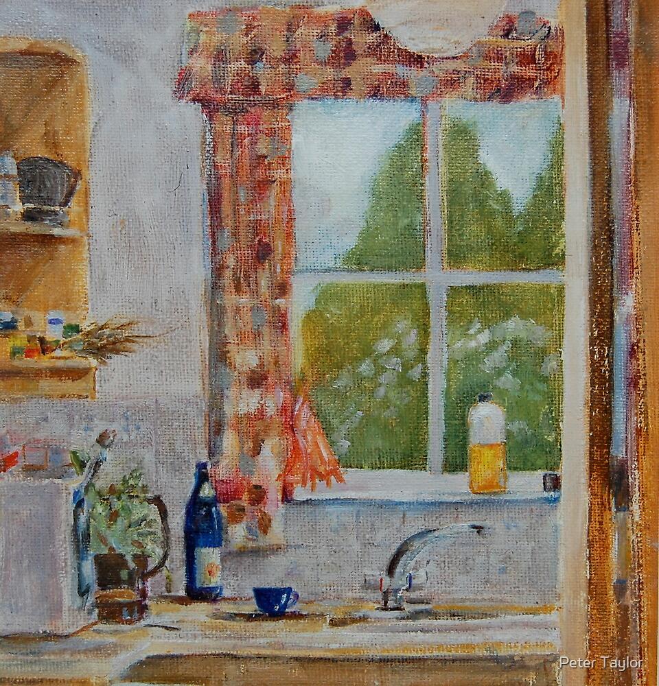 Karen's window by Peter Lusby Taylor
