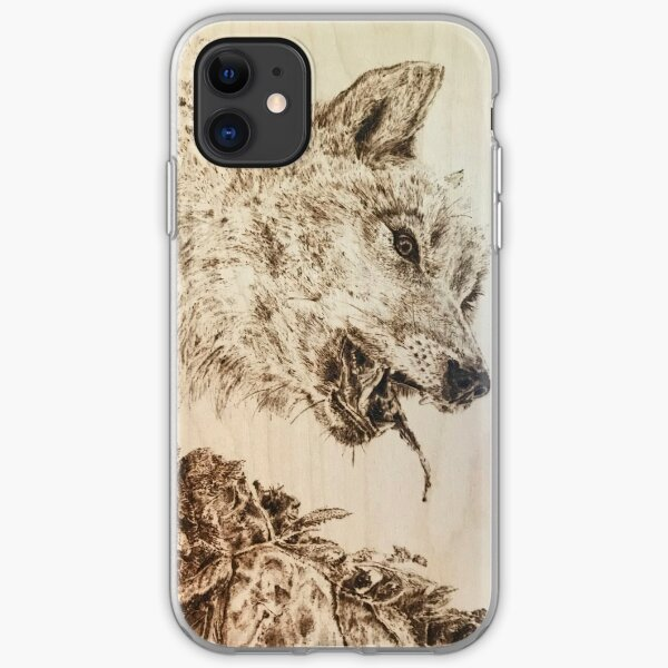 Hungry Wolf iPhone Soft Case