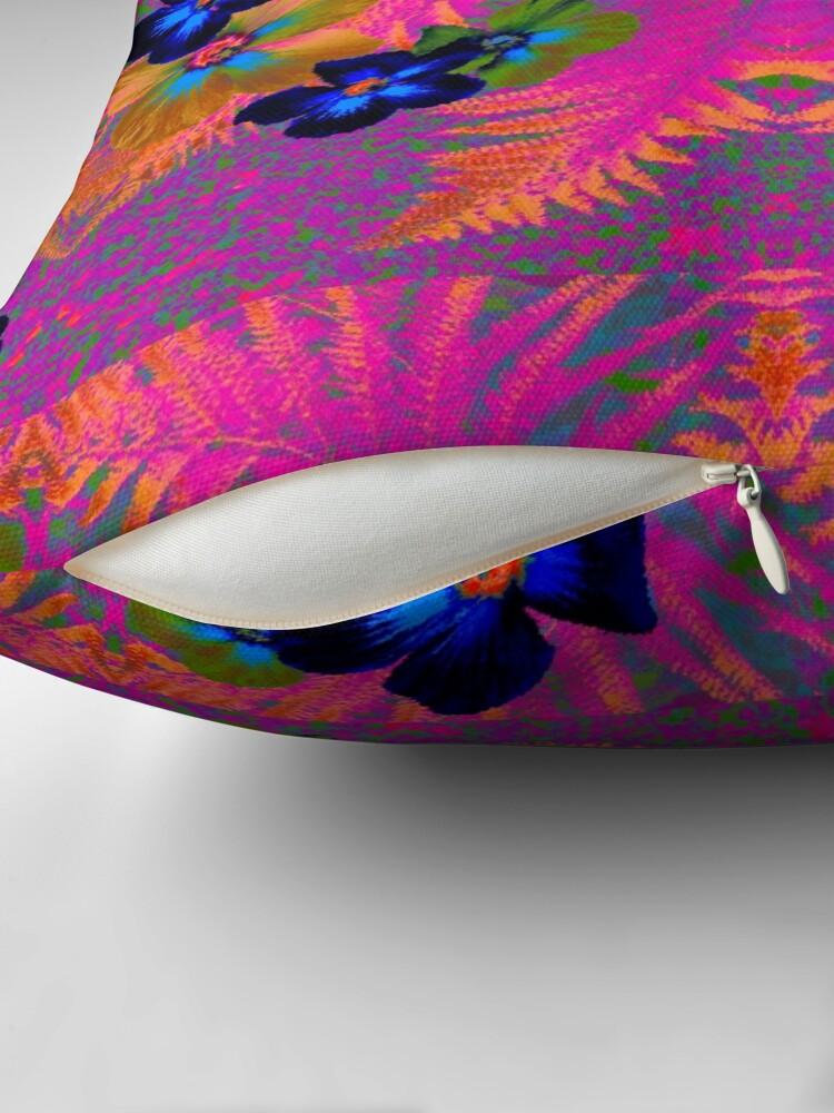 Alternate view of Pink Jungle Floor Pillow