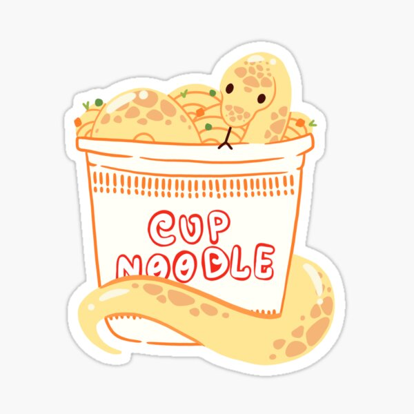 Danger Noodle Sticker