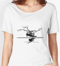 Tree Hover Women's Relaxed Fit T-Shirt