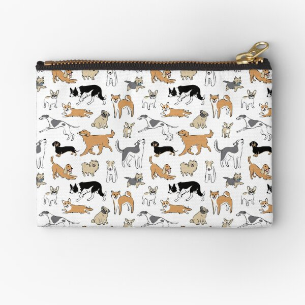 Dogs Fun Zipper Pouch