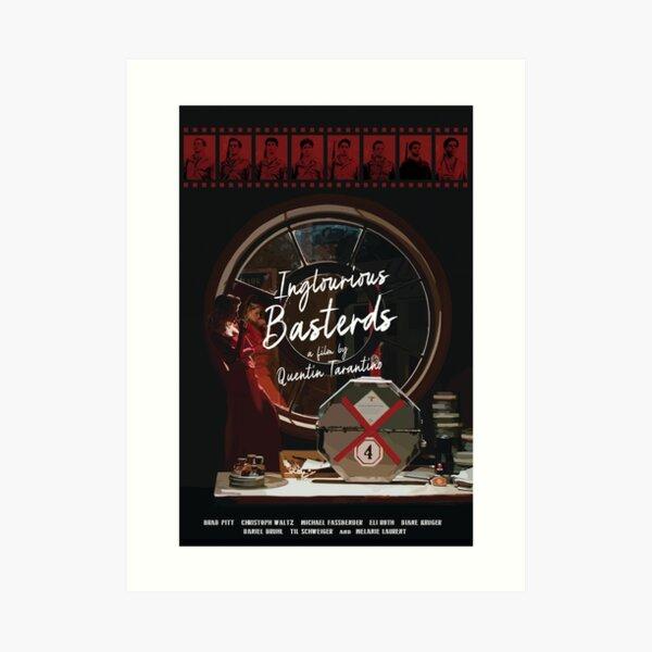 Inglourious Basterds alternative movie poster Art Print
