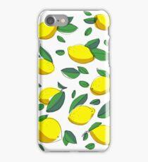 lemon zinger iPhone Case/Skin