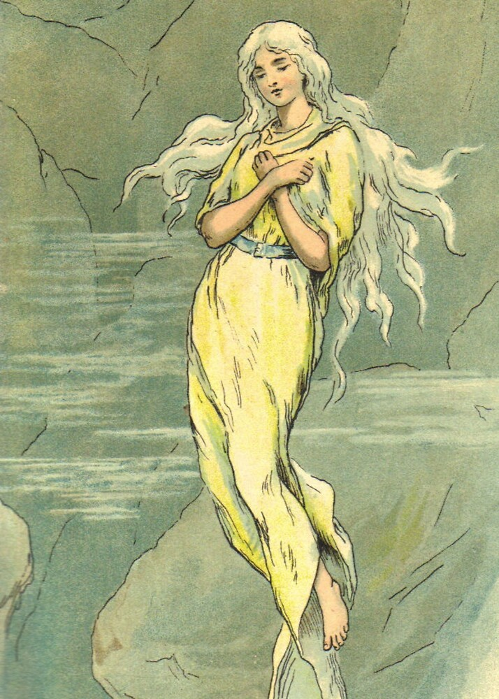 ice maiden by chester loomis by lucy loomis