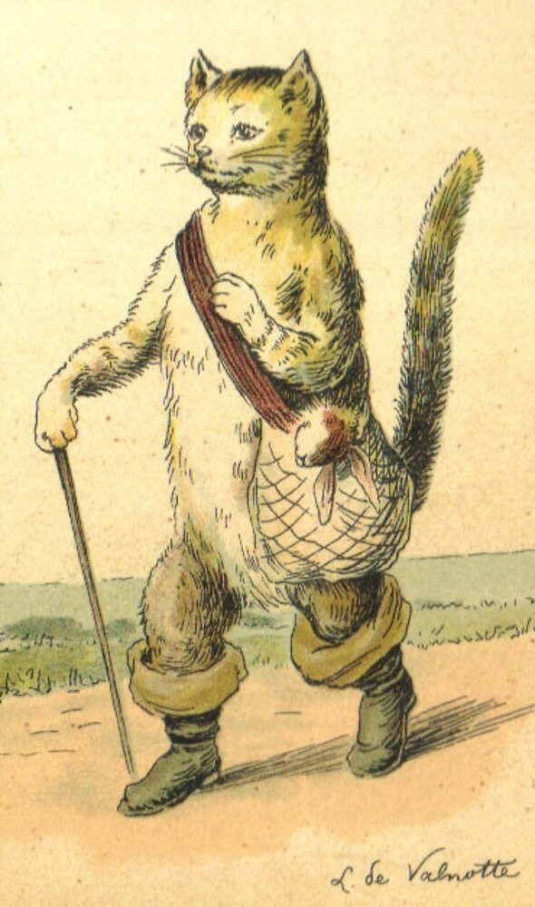 puss in boots by chester loomis by lucy loomis
