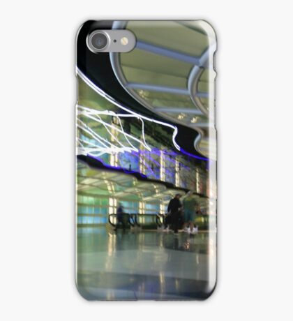 The People Mover Corridor iPhone Case/Skin