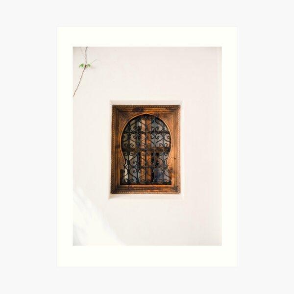 Arabic Moroccan window in Cordoba Spain | Fine art photography print Art Print