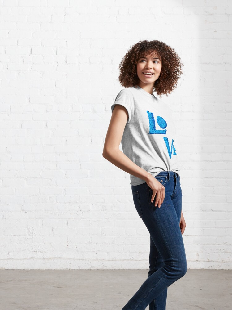 Alternate view of Love actually Classic T-Shirt