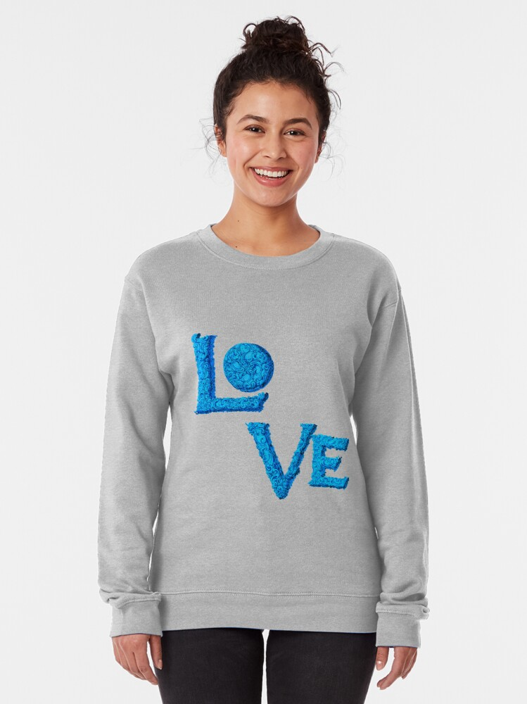 Alternate view of Love actually Pullover Sweatshirt