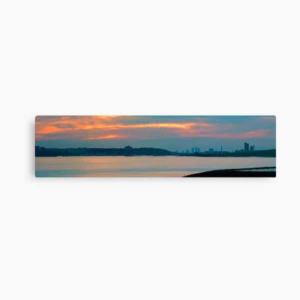 River Thames Panorama Rainham Canvas Print