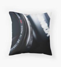 AutoFocus Zoom Throw Pillow