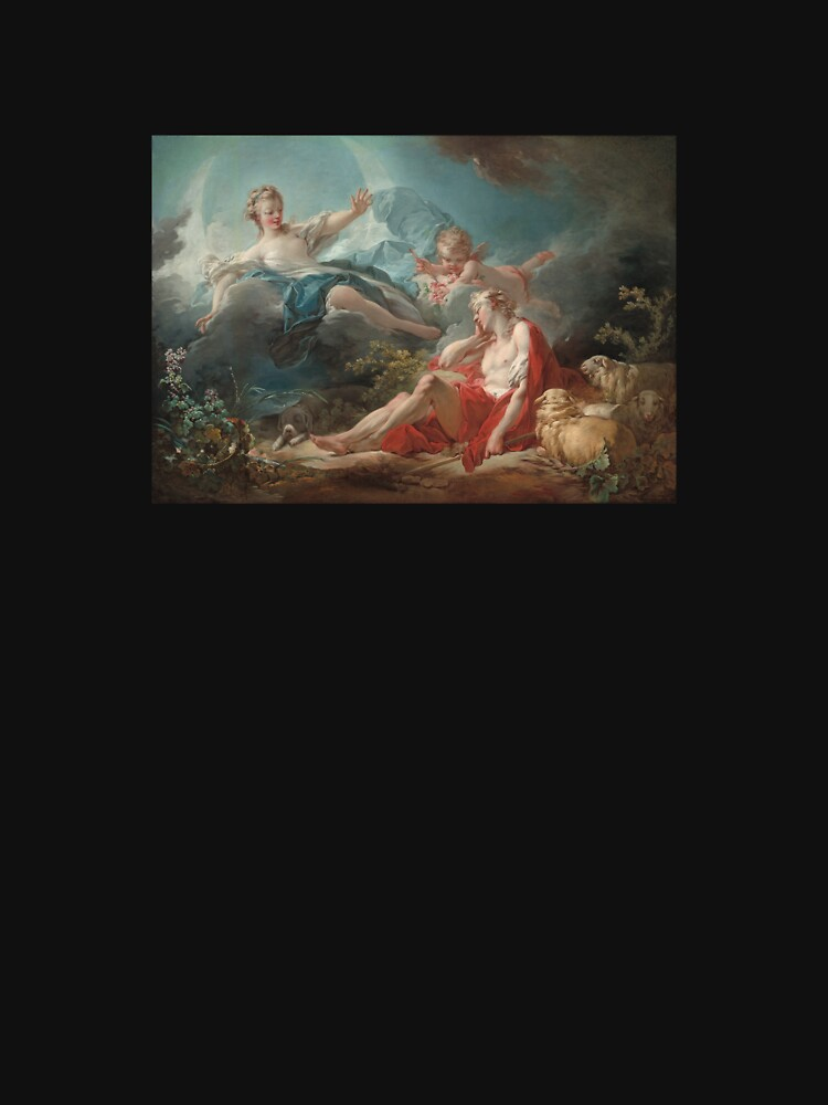 Diana and Endymion by NikolaiDrake