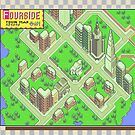 Fourside Town Map - Earthbound/Mother 2 by Studio Momo ╰༼ ಠ益ಠ ༽