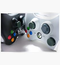 XBOX Controllers Poster