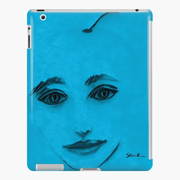 The Cyan in CMYK iPad Snap Case