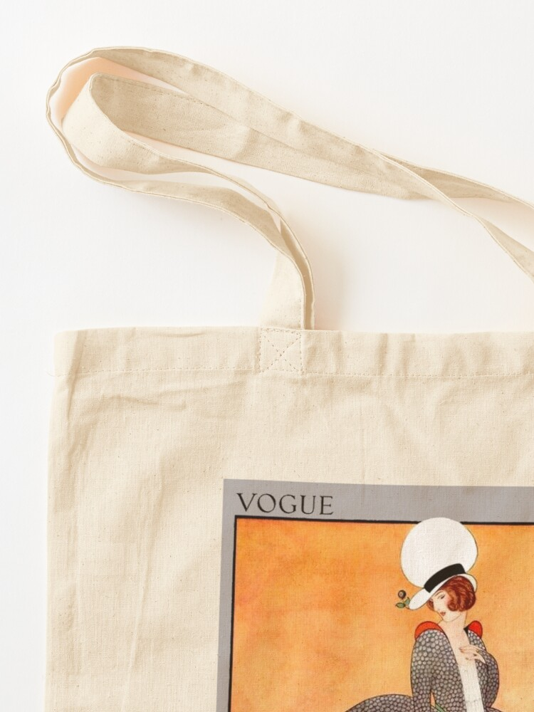 Alternate view of VOGUE : Vintage 1914 Magazine Advertising Print Tote Bag
