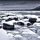 """""""Snowy Boulders #2"""" by Jaime Hernandez"""