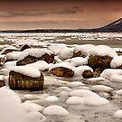 """""""Snowy Boulders"""" by Jaime Hernandez"""