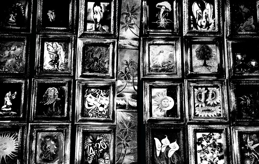 art in black and white  by S .