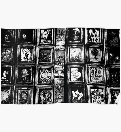 art in black and white  Poster