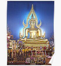 Buddha Thailand Poster