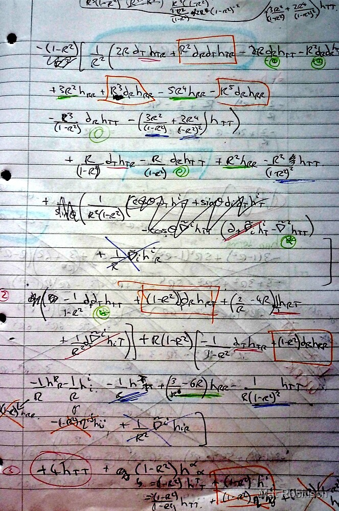 Klein-Gordon Equation Calculations In De Sitter Spacetime by Mat Robinson