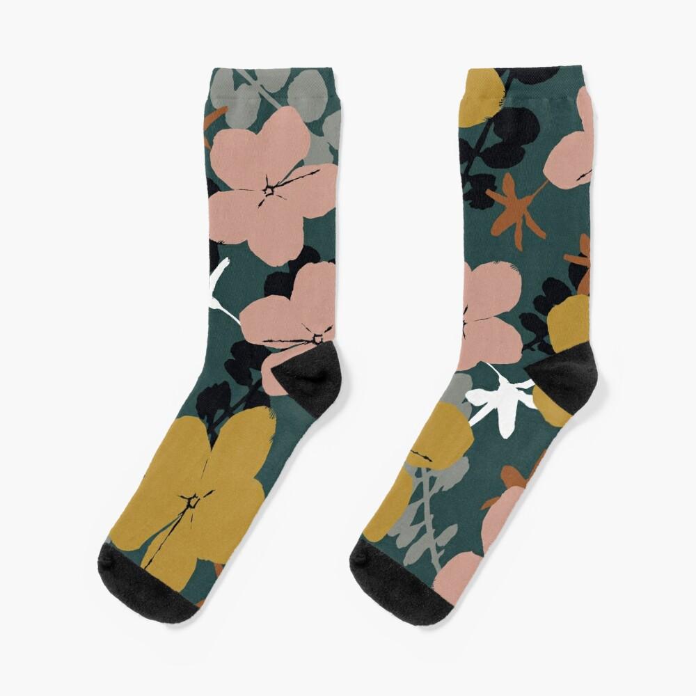 Oktober Garten Socken