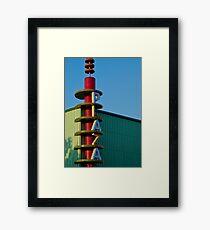 Plaza Framed Print