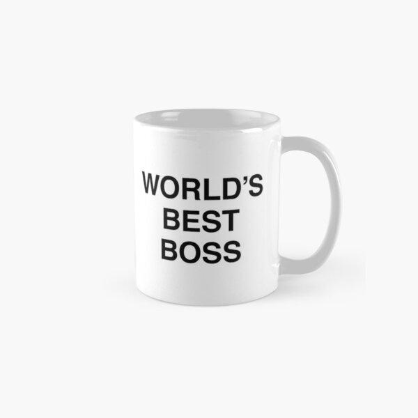 Michael Scott's World's Best Boss Mug Classic Mug
