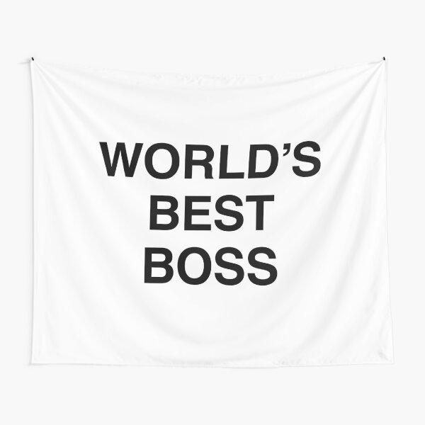 Michael Scott's World's Best Boss Mug Tapestry