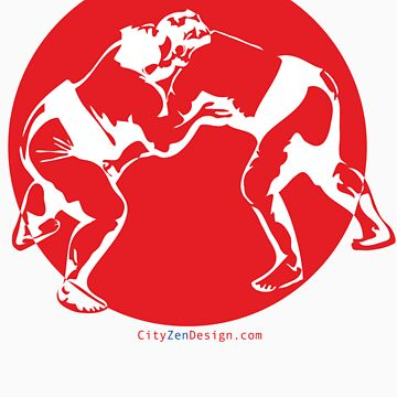 Sumo Match - red by CityZenDesign