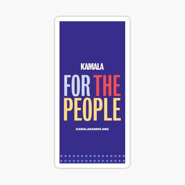 Kamala Harris For the People! Sticker