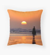 The End of The Day! Throw Pillow